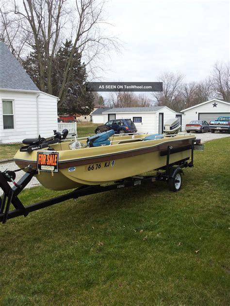 pro gator boats 1976 progator 154s