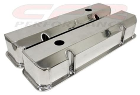 pontiac         fabricated polished aluminum valve covers smooth