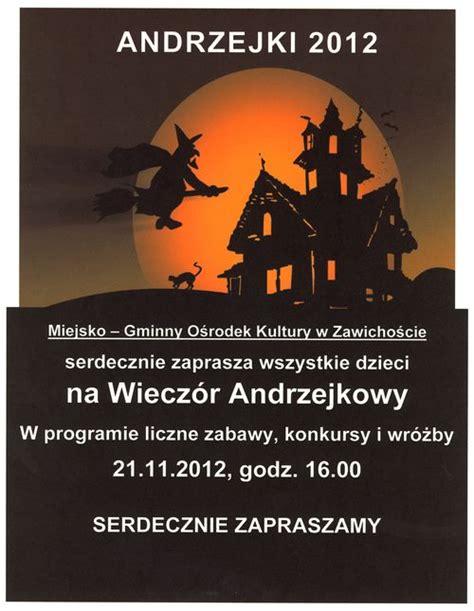 Plakat Andrzejkowy by Mgok Zawichost