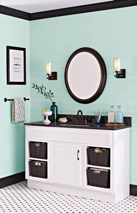 Powder Room Paint Colors by Paint A Bathroom Vanity