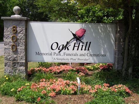 find a grave oak hill memorial park