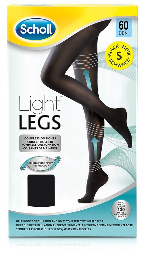 Light Legs scholl light legs compression tights black be beautiful
