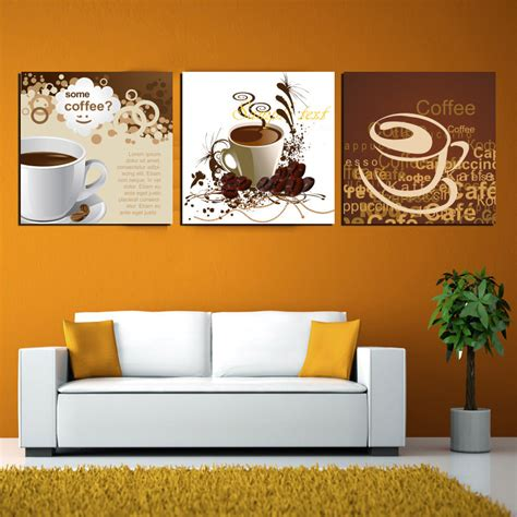 painting for home decor dinning room kitchen decor canvas some hot coffee