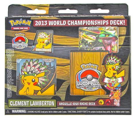 card world 2013 world chionship deck clement lamberton