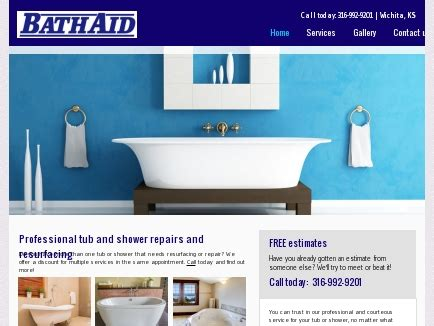 bathtub refinishing wichita ks bath aid bathtub resurfacing wichita ks