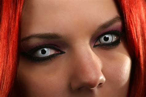 scary colored contacts think before wearing costume contact lenses
