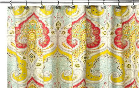 echo jaipur shower curtain design trends categories diy overhead garage storage