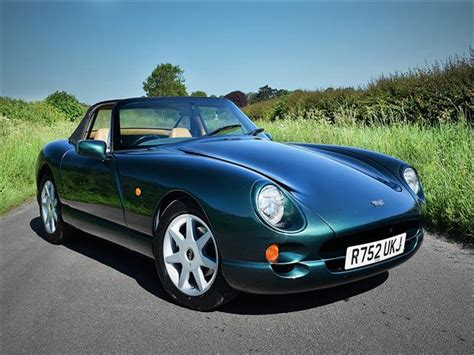 Tvr Webmart Tvr Chimaera 4 5 1997 Sold In Green With Leather