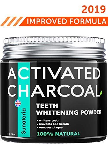 activated charcoal teeth whitening powder product  uk