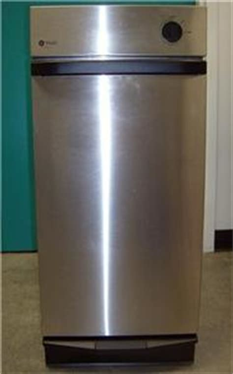 ge profile 15 in built in trash compactor in stainless nice ge profile built in 15 quot trash compactor gcg1540f0ss