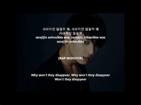 my lyrics hangul bts 방탄소년단 let me lyrics hangul romanization