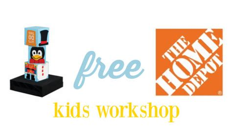 holiday stacking blocks home depot workshop 125 free stuff finder free home depot kids holiday workshop southern savers