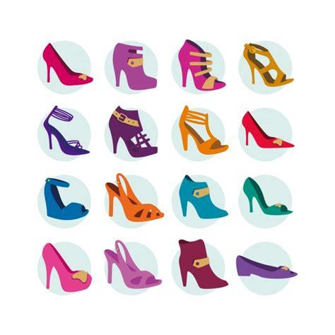 descargar sapatos colecci 243 n de iconos de zapatos de tac 243 n descargar