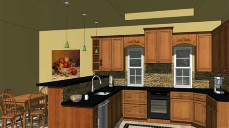 kitchen design sketchup sketchup make your kitchen designing process