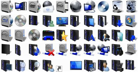 Dw Paket Blackgold windows 7 icons with install script