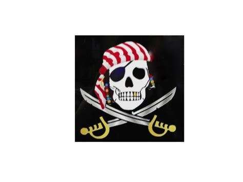 Auto Graphs Decals by Sparrow Pirate W Skull Premium Vinyl Car Decal