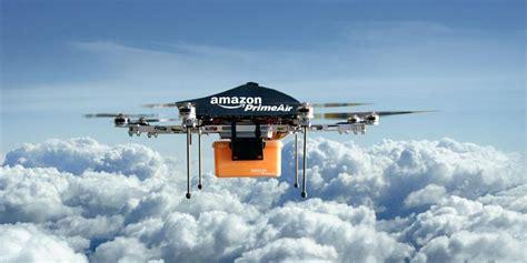 amazon drone amazon prime air takes to the skies