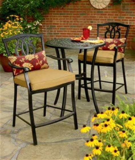 country living highland 3 pc high bistro set outdoor