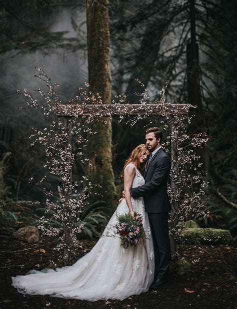 a magical elopement in the woods green wedding shoes into the woods an enchanted elopement shoot green