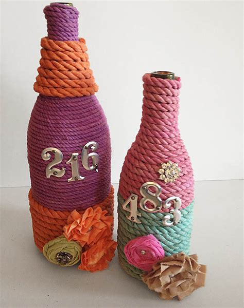 best crafts 7 craft ideas using waste wine and other glass bottles