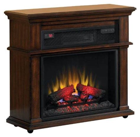 Duraflame Electric Fireplace International 23if1714 C247 Duraflame Bennington Infrared Rolling Electric Fireplace