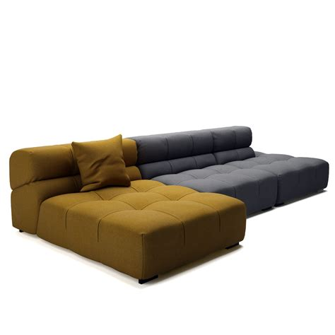 sofa in tufty time 15 sofa by b b italia dimensiva