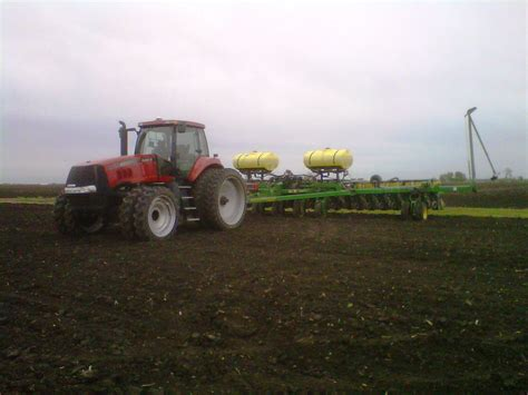 36 Row Planter by Observations In Agriculture Greenfield Athensville
