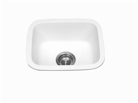 solid surface kitchen sinks meridian solid surface 230 single bowl integral kitchen sink tower industries inc
