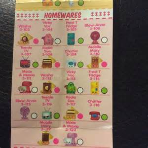 List homewares shopkins shopkinsseason3 repost shopkins season3