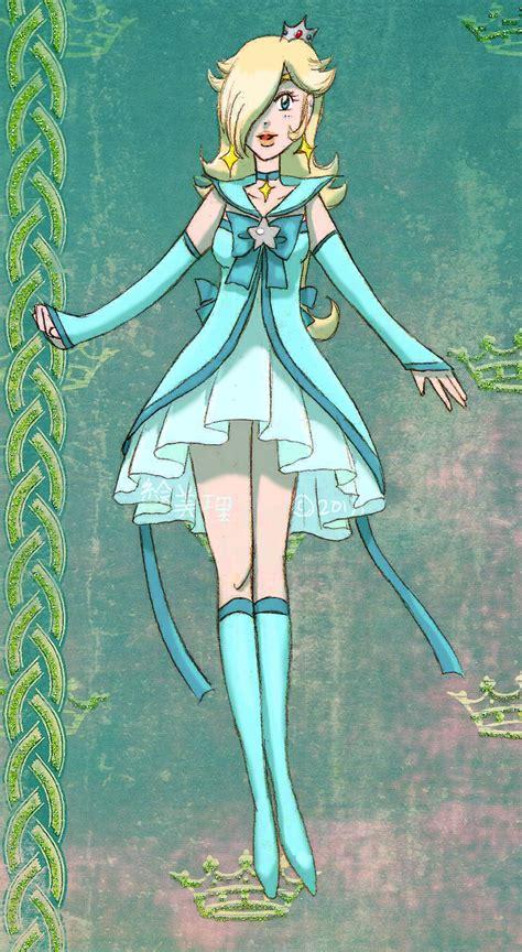 Dress Flow Sailormoon pretty soldier sailor rosalina by lamarce on deviantart
