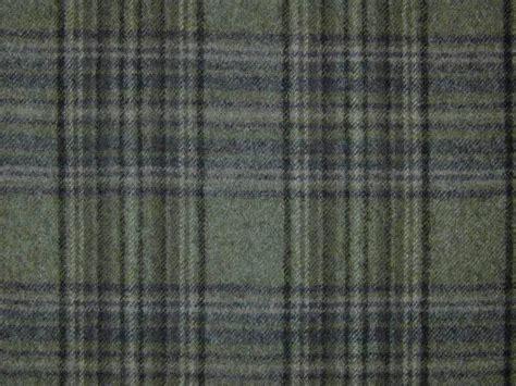 designer curtain upholstery fabric 100 wool tartan check