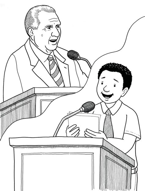 kid talking coloring page 45 best images about lds primary coloring pages on lds mormon coloring pages for