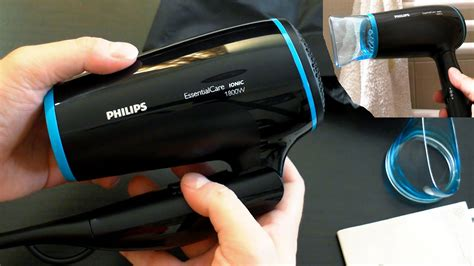 Philips Hair Dryer Disassembly philips bhd007 00 hair dryer unboxing noise test