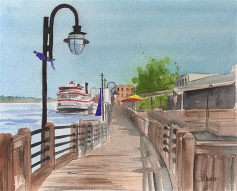watercolor tattoo wilmington nc carolina stroll a downtown wilmington carolina