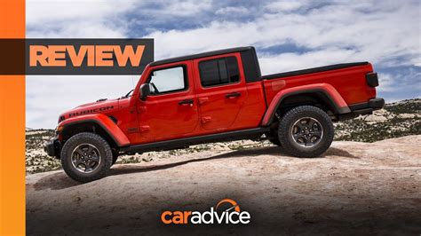 review  jeep gladiator rubicon ute youtube