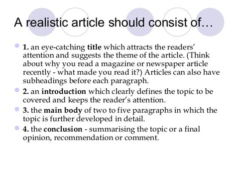 how to write a news paper article how to write an article