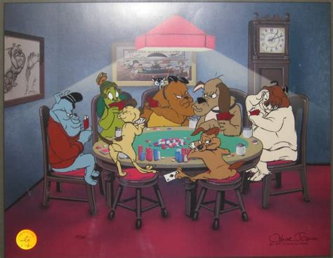 full house dog full dog house by chuck jones dogsplayingpoker org
