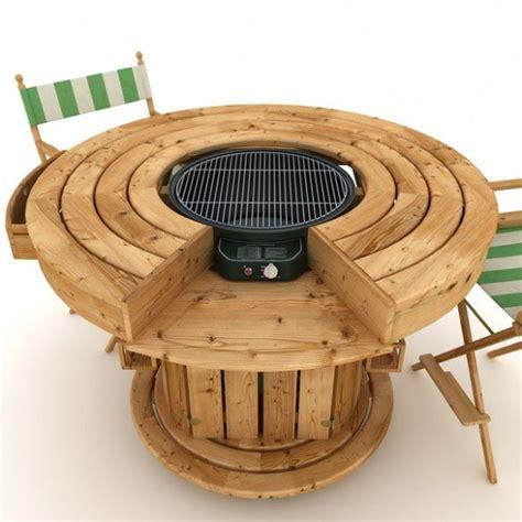 korean bbq table grill pit design ideas