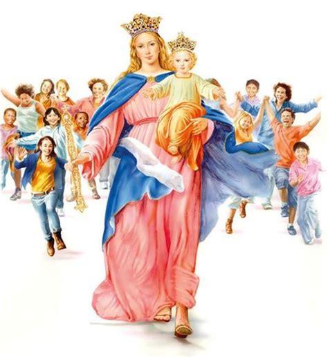 imagenes de la virgen maria ausiliadora image gallery maria auxiliadora