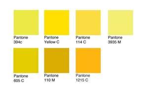 pantone yellow design practice pantone swatches
