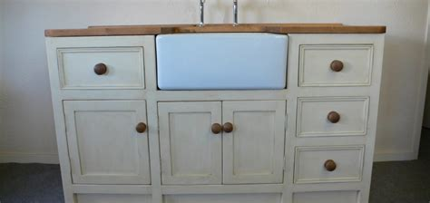 shabby chic bathroom sink unit belfast sink unit with shabby chic style finish the