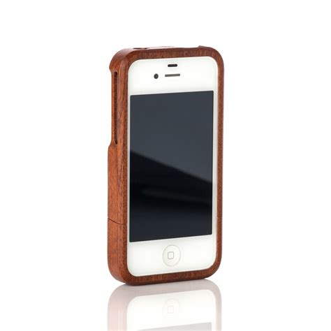 Classic Iphone 4 4s Custom classic iphone 4 4s sapele bark accessories touch of modern