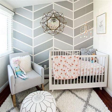 girly nursery wallpaper herringbone this nursery is chic but love how it s so