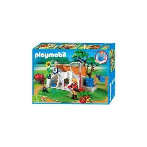 playmobil 4193 box de lavage pour chevaux achat et vente