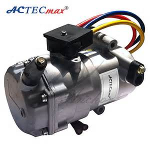 Car Air Conditioning And Electric Electric Car Ac Compressor Dc 12v Compressor View 12v