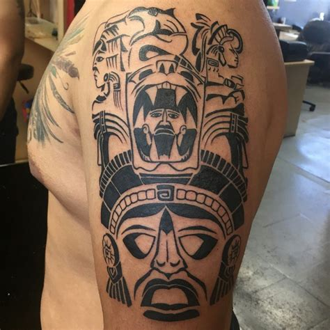 aztec tribal tattoo meanings 25 unique aztec designs