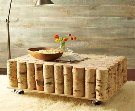 Diy Log Coffee Table Diy Log Coffee Table Diy Rustic Coffee Table Home Design Garden Architecture Magazine Diy Log