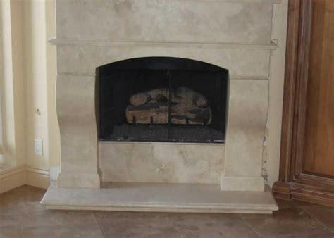 travertine fireplace noce ii travertine fireplace millestone marble tile