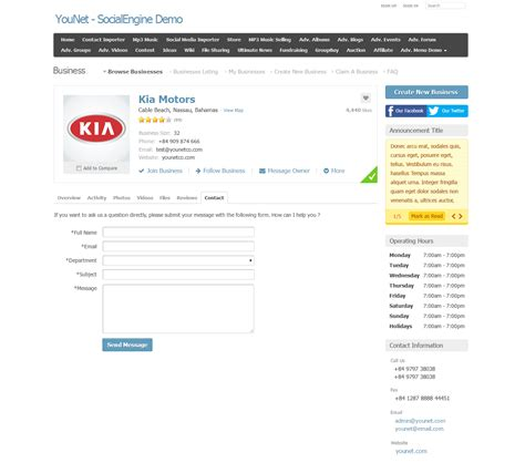 Business Finder By Address Younet Business Directory Socialengine