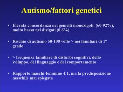 test sull autismo autismo